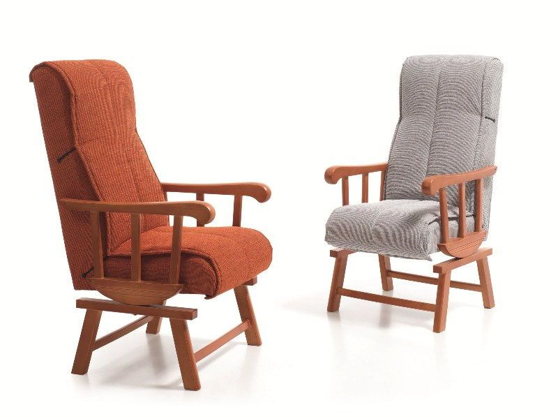 Sillones mecedoras mecedora clasica madera medidas reducidas - Sofa mecedora ...