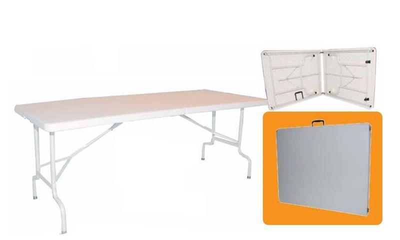 Muebles de jardin y terraza mesa plegable maleta jardin for Mesa plegable maleta